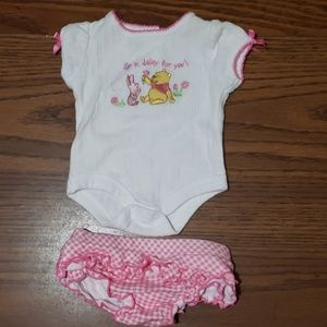 Whinnie the pooh outfit